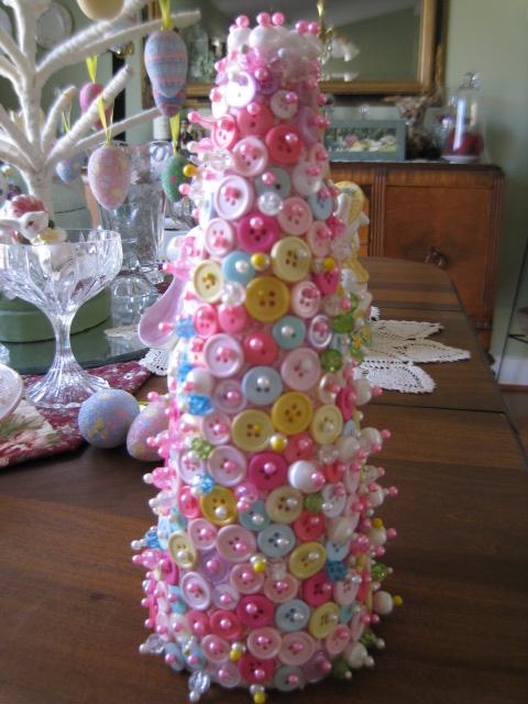 Spring Button Tree #2