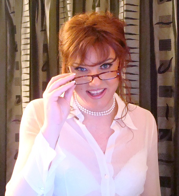 Redhead in glasses 2 Flickr - Photo Sharing!