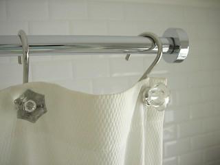 Shower curtain rail!