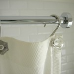 Shower curtain rail!