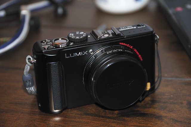 My latest gear - Panasonic Lumix LX3