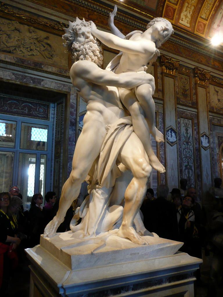 Pluto und Proserpina, Galleria Borghese | Explore mellisee ...
