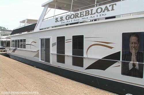 Al Gore's Giant Houseboat