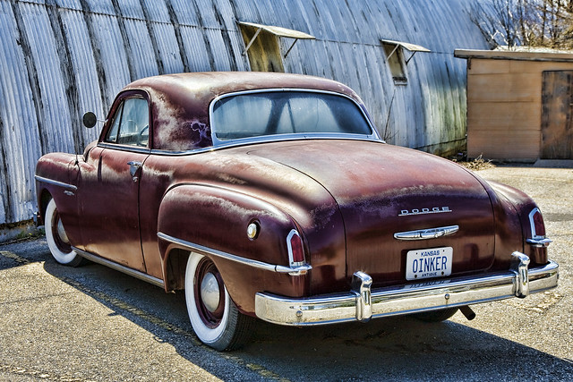 1950 dodge wayfarer coupe autos post for 1950 plymouth 3 window business coupe
