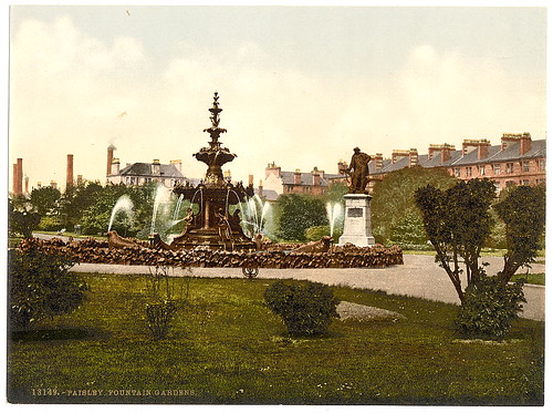 [Fountain Gardens, Paisley, Scotland] (LOC)