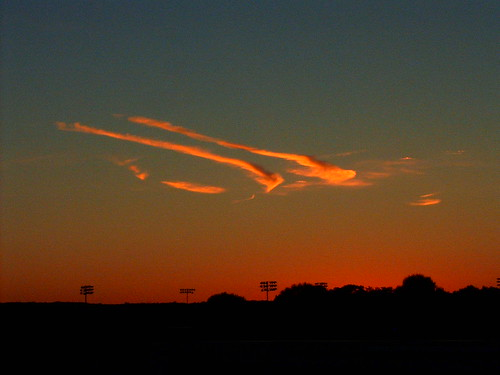 sunset abstract clouds