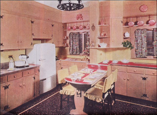 1950s early american style kitchen flickr photo sharing