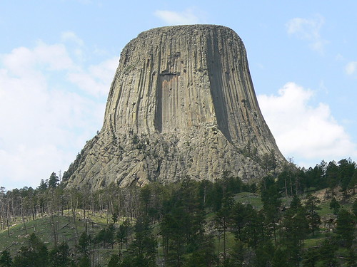 Devil's Tower Wyoming as in close encounters of the third kind
