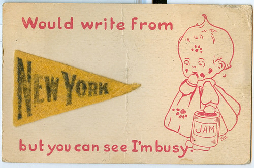 Postcard: New York 1921