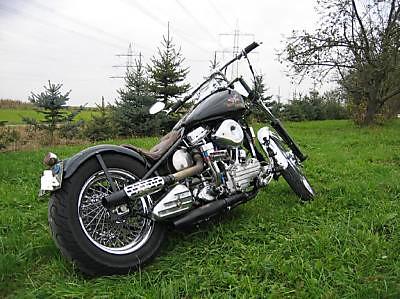 Harley Davidson FL Panhead 1950