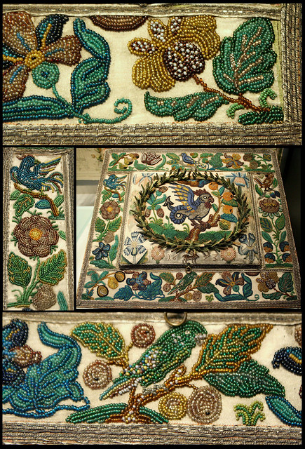 C beads embroidery victoria and albert museum