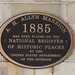Small photo of A. H. Allyn Mansion Plaque