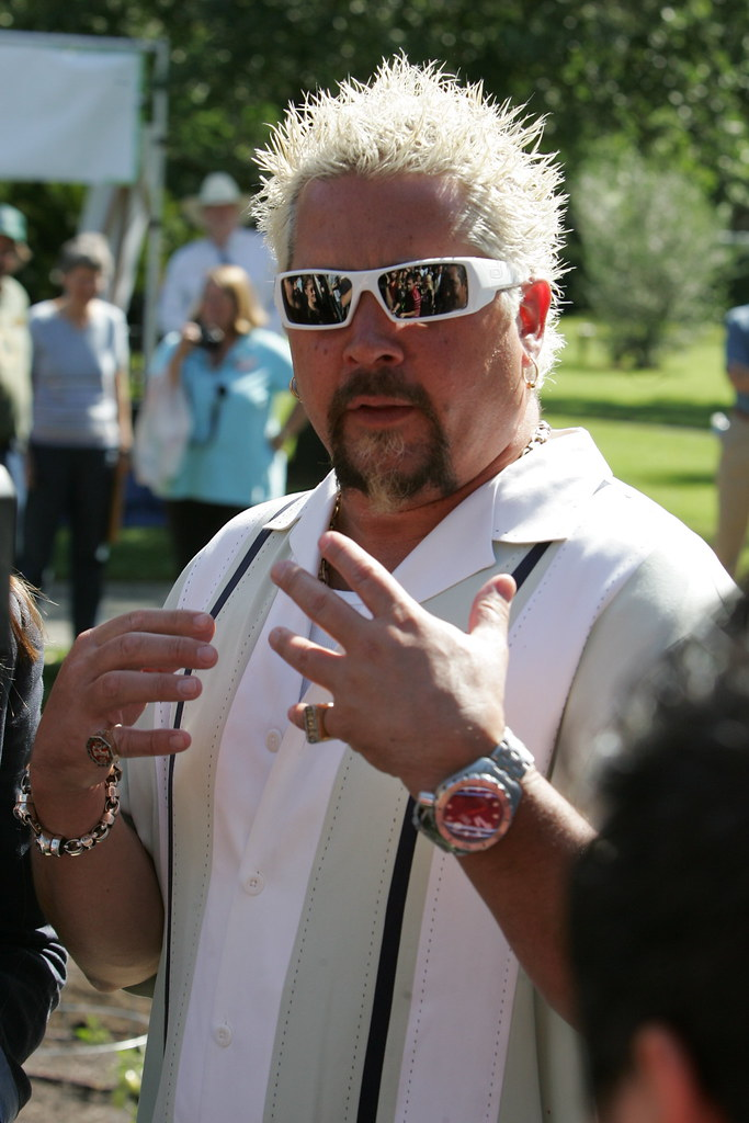 Guy Fieri and his bad restaurant review