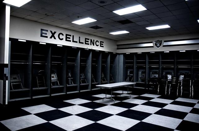Oakland Raiders Locker Room Flickr Photo Sharing