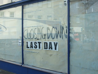 Closing Down - Last Day