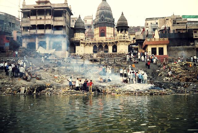 Manikarnika Burning Ghat, Varanasi India