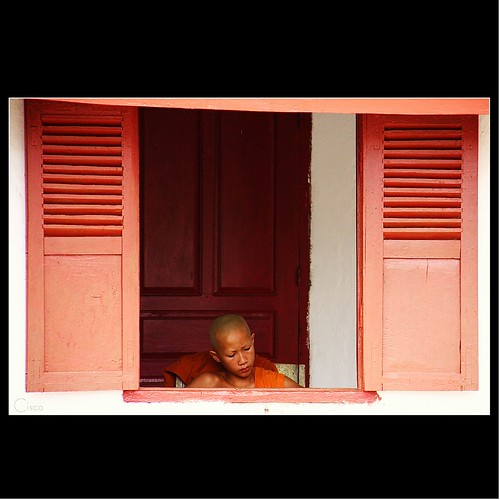"portrait monk cisco laos ritratto luangprabang atthewindow photographia ""photographia"""