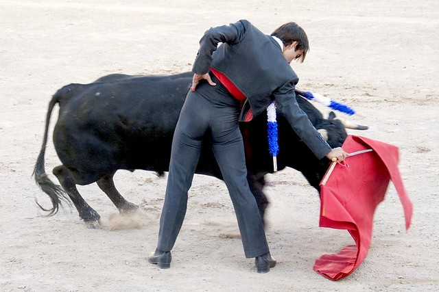 Bullfighters Bulges http://www.flickr.com/photos/joven_60/3658070742/
