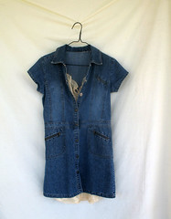 denim, textile, clothing, collar, sleeve, outerwear, pocket, button, shirt, blue,