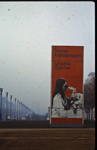 East Berlin - February 1982 - Karl-Marx-Allee by LimitedExpress