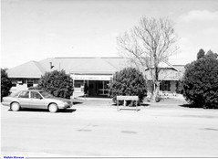 A front view of the Mallala Hospital