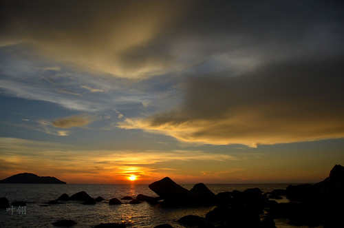 sunset singkawang 叶翎