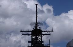 USS Wisconsin Mast