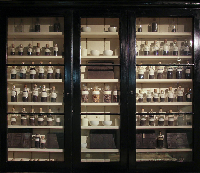 Spice cabinet - Cutler Street Warehouses