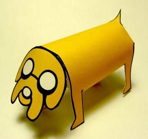 Adventure Time papercraft