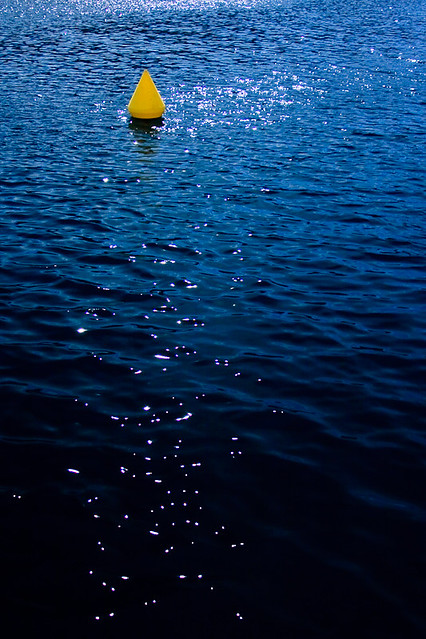Buoy and the deep Blue