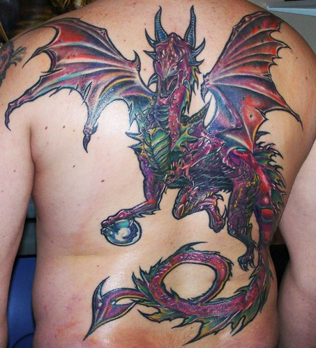 Dos Complet Dragon Occidental Find Me A Tattoo
