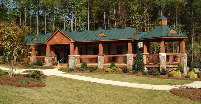 Modular Building With A Log Cabin Feel Flickr Photo