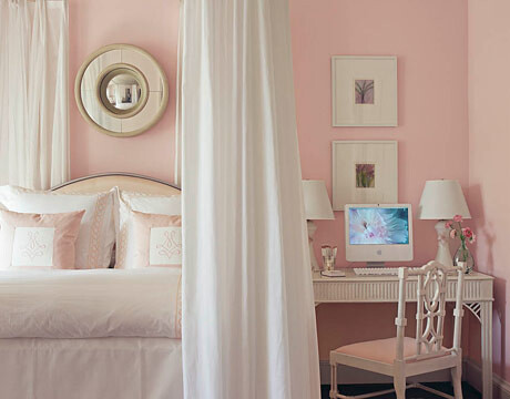 pretty pink and white bedroom white dogwood by sherwin williams flickr photo sharing. Black Bedroom Furniture Sets. Home Design Ideas