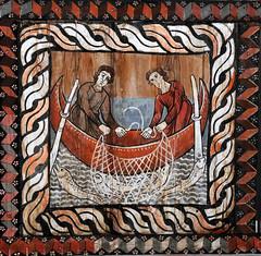 Disciples fishing