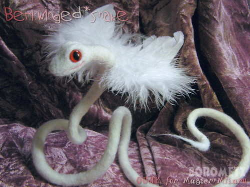 Beri:Winged Snake / OOAK for Miharu