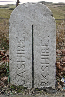Boundary Stone between Yorkshire and Lancashire