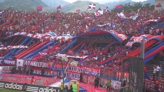 Medellin supporters