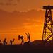 Burning Man 2007 Crude Awakening sunrise burningman 07 by Dust To Ashes
