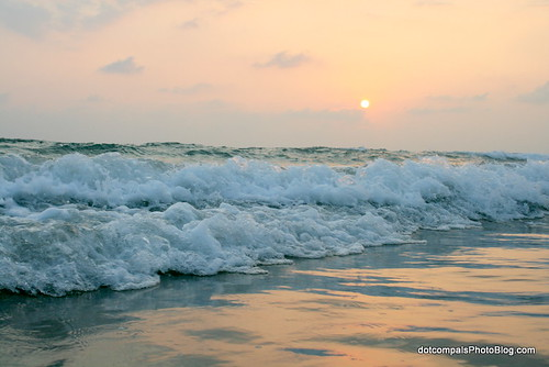 Varkala Beach- Sunset at Papanasam Beach