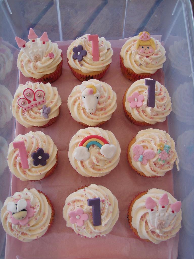 mossy s masterpiece first birthday princess unicorn cupcakes a