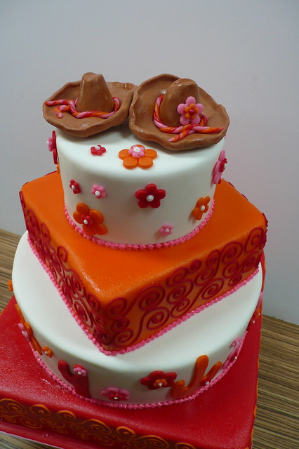 pictures of Mexican Themed Wedding Cakes
