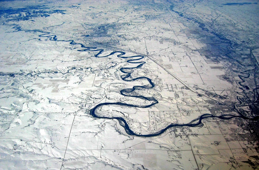 Missouri River at Great Falls MT