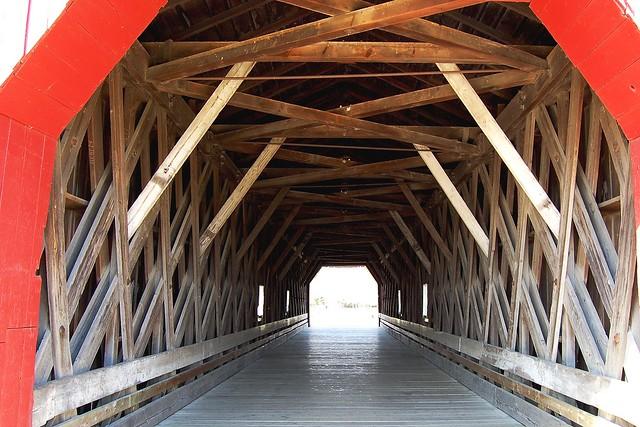 Town Lattice Truss Minnesota Goodhue County Zumbrota Zumbrota Bridge 11 017c Flickr