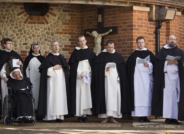 image Catholic nuns and priest