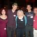 Jackie with Anina Bennett, Paul Guinan, Eric Shanower, and David Maxine