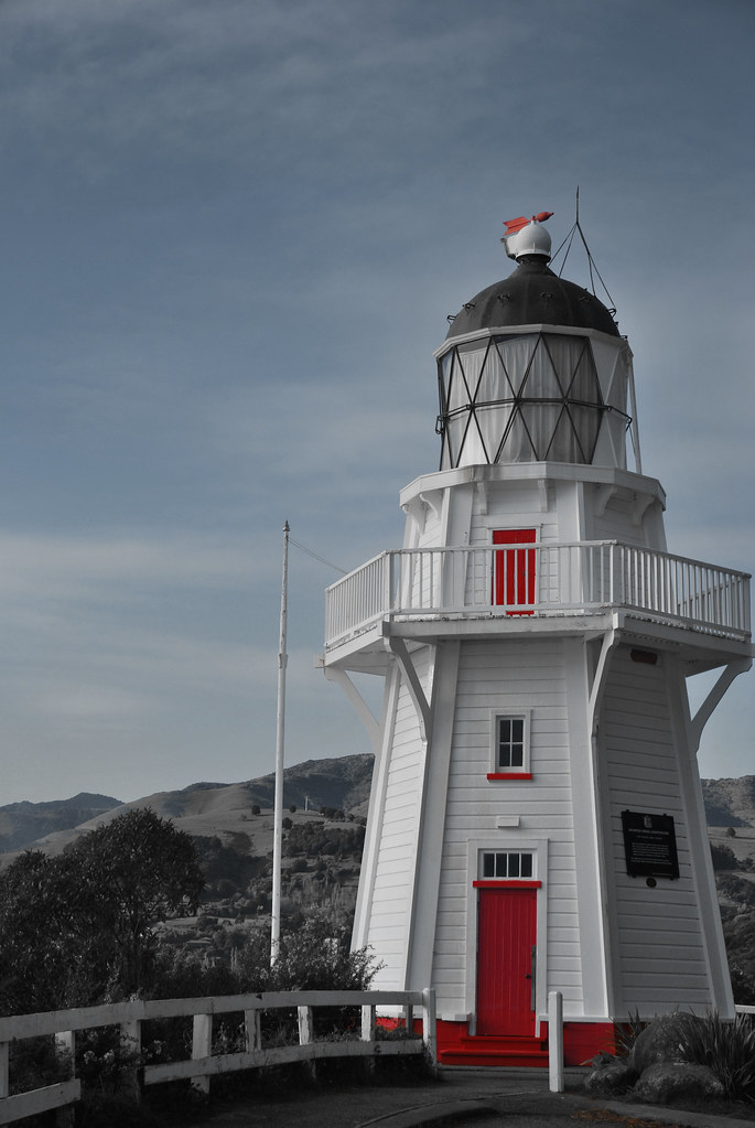 Akaroa Lighthouse - Banks Peninsula - New Zealand