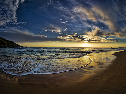 beach sunrise waves australia explore nsw frontpage soe boambee supershot flickrsbest mywinners infinestyle topaz3