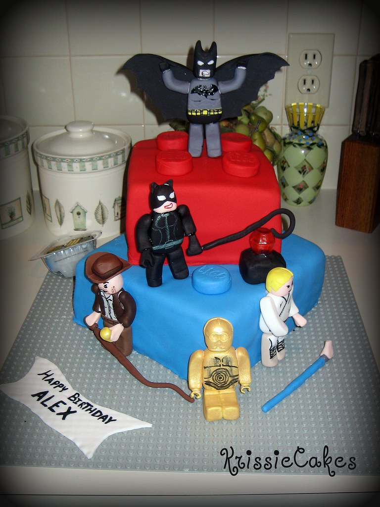 Alexs 4th Birthday Cake