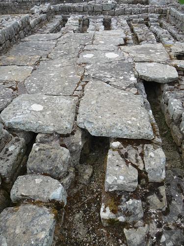 Roman Hypocaust Heating System, Vindolanda Roman Site