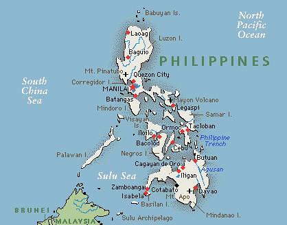 philippines map